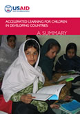 Accelerating Learning for Children in Developing Countries: A Summary