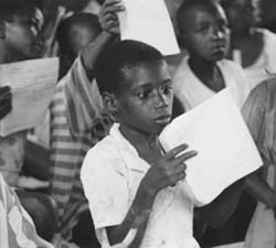 Ghana Children in classroom