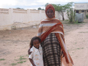 Somalian Mother and Daughter