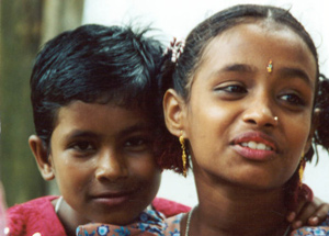 Boy and Girl from Bangladesh